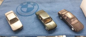 Miniatur M1:87 BMW 7er Tradition Set 3-teilig